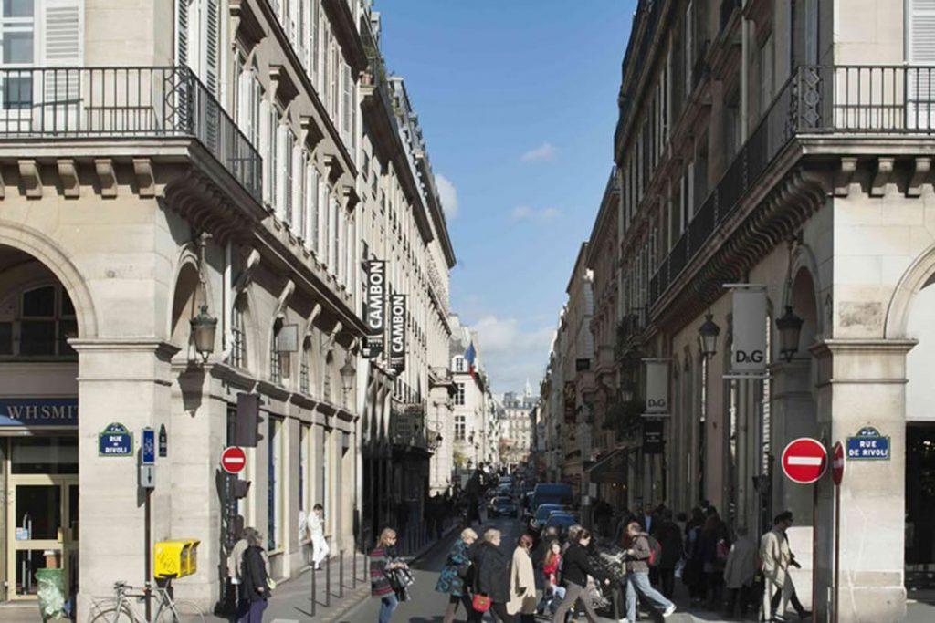 La rue Cambon - Paris
