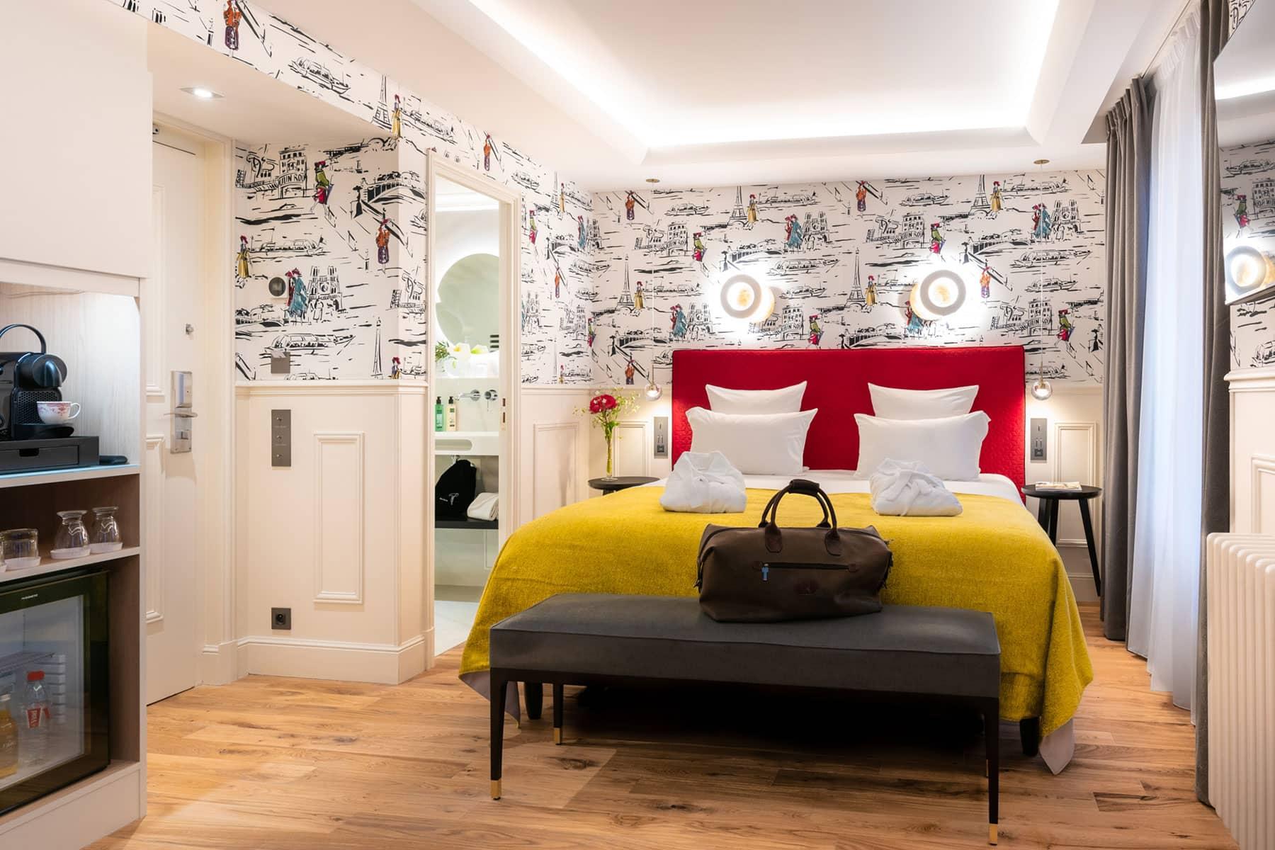 Chambre deluxe Hotel Le Cambon Paris